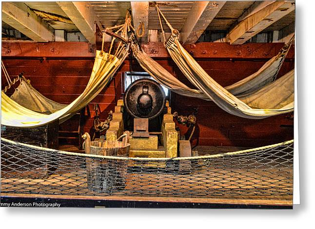 Tall Ships Greeting Cards - HMS Surprise 4 Greeting Card by Tommy Anderson