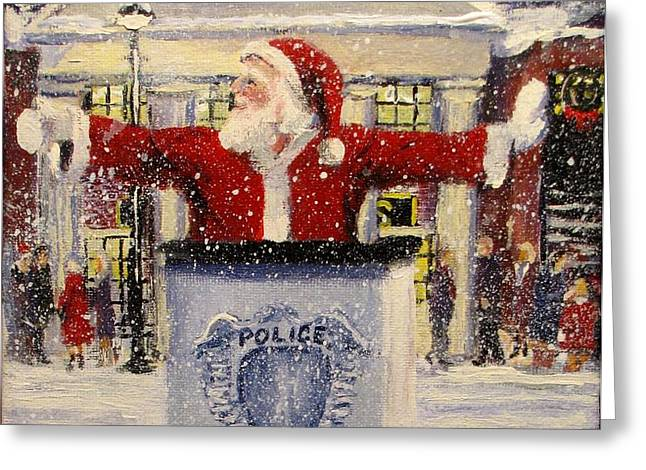 HO HO GO... Greeting Card by Jack Skinner