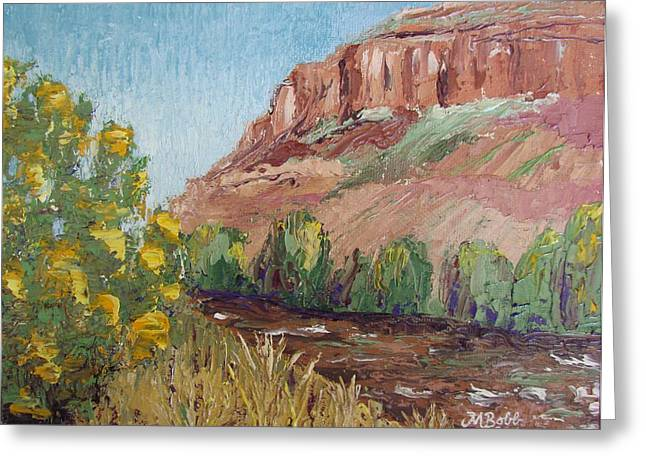 Watson Lake Greeting Cards - Hogback in early Fall at Watson Lake Greeting Card by Margaret Bobb