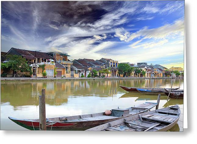 Indochina Greeting Cards - Hoi An. Vietnam Greeting Card by MotHaiBaPhoto Prints