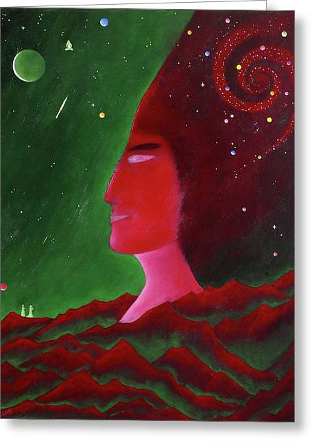 Science Greeting Cards - Holding the Field Greeting Card by Lawrence Neal Katzman
