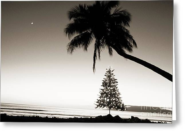 Illuminate Greeting Cards - Holidays in Hawaii Greeting Card by Ron Dahlquist - Printscapes