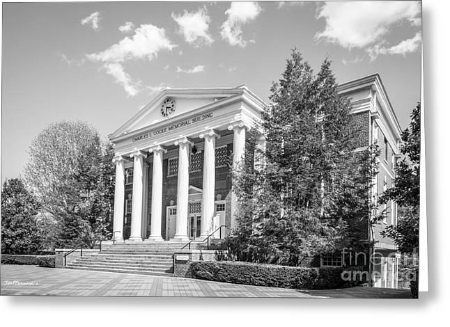 Hollins University Cocke Memorial Building Greeting Card by University Icons