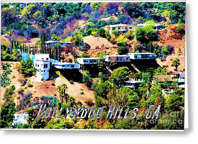 Fame Greeting Cards - Hollywood, CA Greeting Card by RJ Aguilar