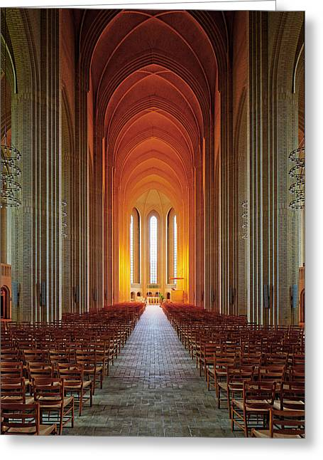 Tonemapping Greeting Cards - Holy Light Greeting Card by Martin Fleckenstein