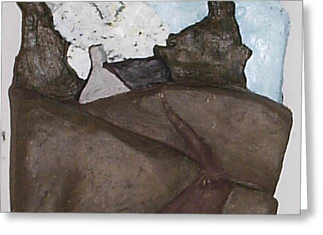 Stronger Sculptures Greeting Cards - Home 6 Greeting Card by William Douglas