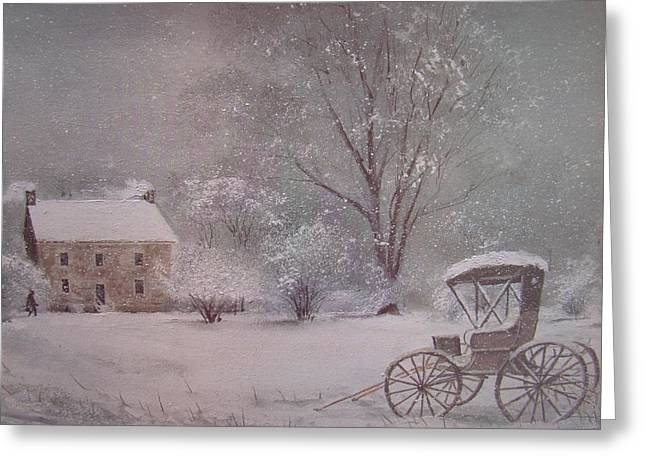 Mecklenberg County Greeting Cards - Home at last Greeting Card by Charles Roy Smith
