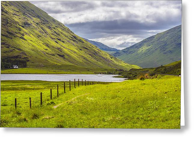 Farmers Field Greeting Cards - Home In The Mountains Greeting Card by Steven Ainsworth