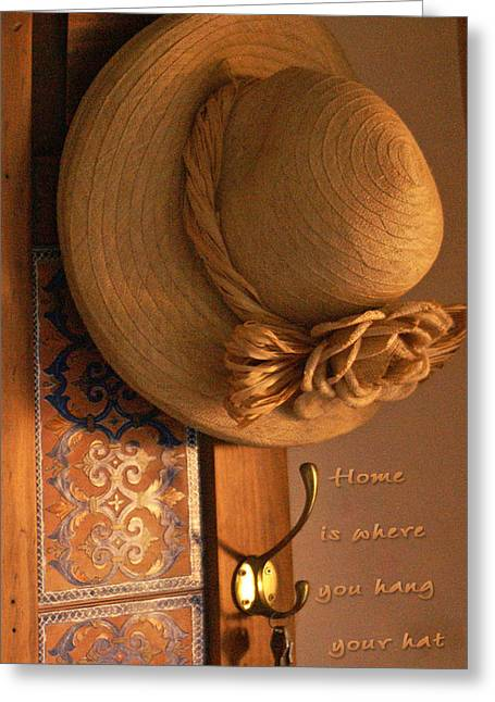 Home Is Where Greeting Card by Holly Kempe