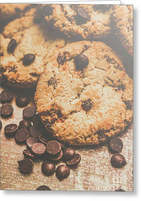 Home Made Biscuit Batch Greeting Card by Jorgo Photography - Wall Art Gallery
