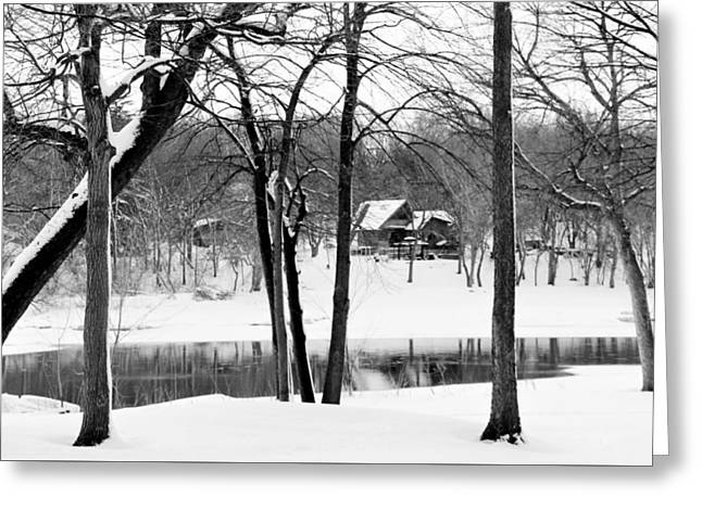 Home On The River Greeting Card by Kathy Krause