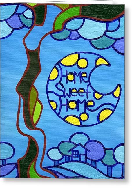 Dan Keough Greeting Cards - Home Sweet Home Greeting Card by Dan Keough
