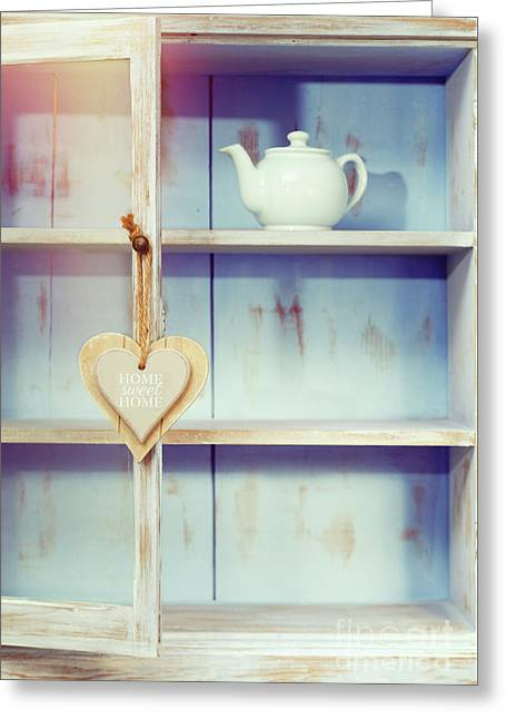 Home Sweet Home Sign Greeting Card by Amanda And Christopher Elwell