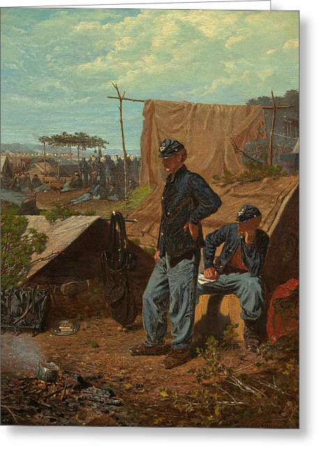 Home, Sweet Home  Greeting Card by Winslow Homer