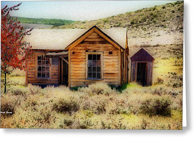 Homestead 2 Greeting Card by Cheryl Young