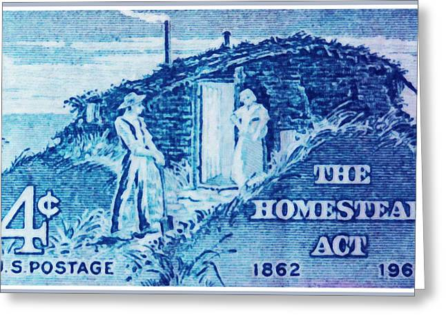Culture Greeting Cards - Homestead Act Greeting Card by Lanjee Chee