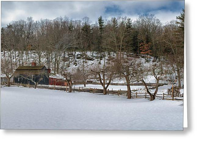 Homestead Greeting Card by Scott Thorp