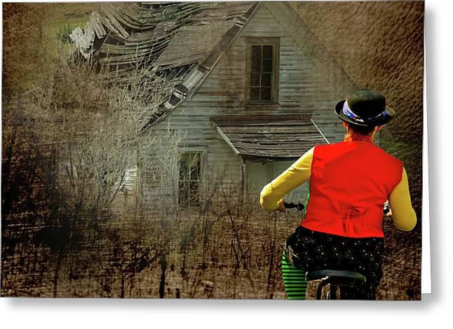 Run Down Greeting Cards - Homeward Bound Greeting Card by Dale Stillman