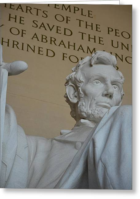 Slavery Greeting Cards - Honest Abe Greeting Card by James La Mere