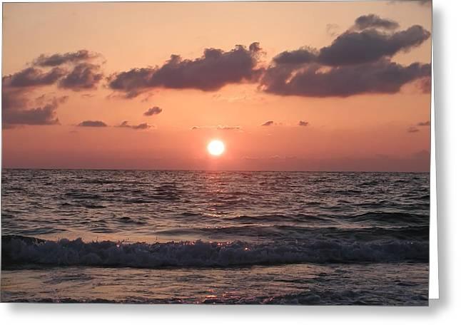 Bill Cannon Greeting Cards - Honey Moon Island Sunset Greeting Card by Bill Cannon