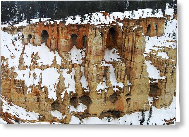 Caves Greeting Cards - Hoodoo Cave Art Greeting Card by Scott Cameron
