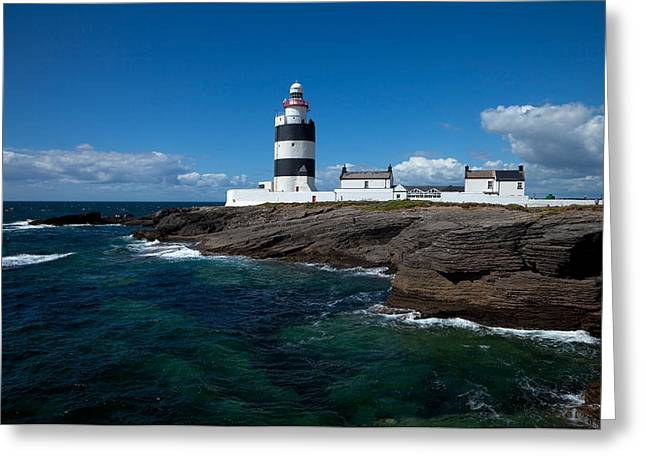 Hook Head Lighthouse, In Existance Greeting Card by Panoramic Images