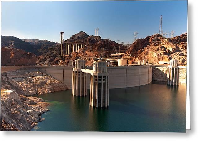 Hoover Dam Greeting Cards - Hoover Dam Greeting Card by Melody Watson