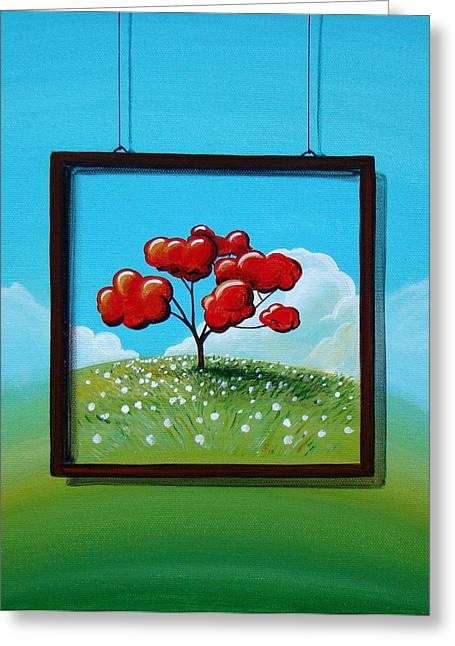 Window Greeting Cards - Hope Greeting Card by Cindy Thornton