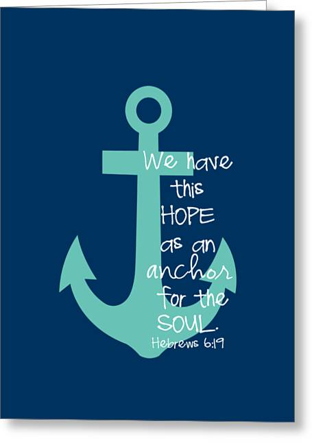 Testament Greeting Cards - Hope Customizable Background Greeting Card by Nancy Ingersoll