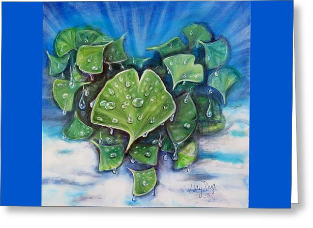 Fundraiser Greeting Cards - Hope For Austin Greeting Card by Kelly Page