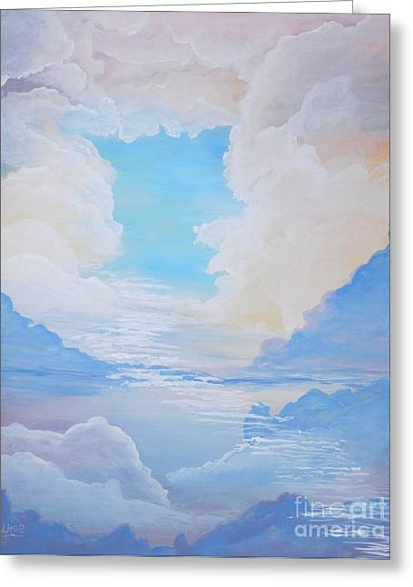 Paradise Road Paintings Greeting Cards - Hope Greeting Card by John Wise