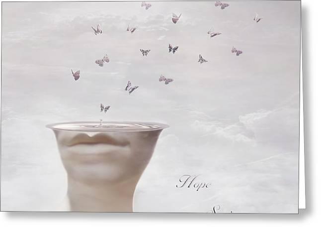 Hope Springs Eternal Greeting Card by Photodream Art