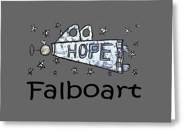 Hope T-shirt Greeting Card by Anthony Falbo