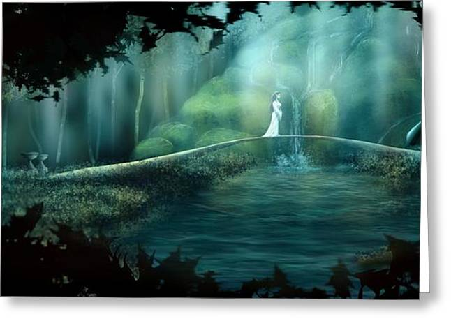 Arwen Greeting Cards - Hope To The Dunedain Greeting Card by Jason Hanson
