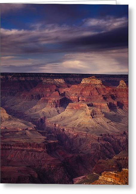 South Rim Greeting Cards - Hopi Point - Grand Canyon Greeting Card by Andrew Soundarajan