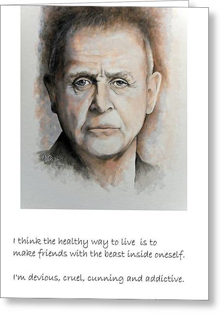 William Walts Greeting Cards - Hopkins Qoute Greeting Card by William Walts