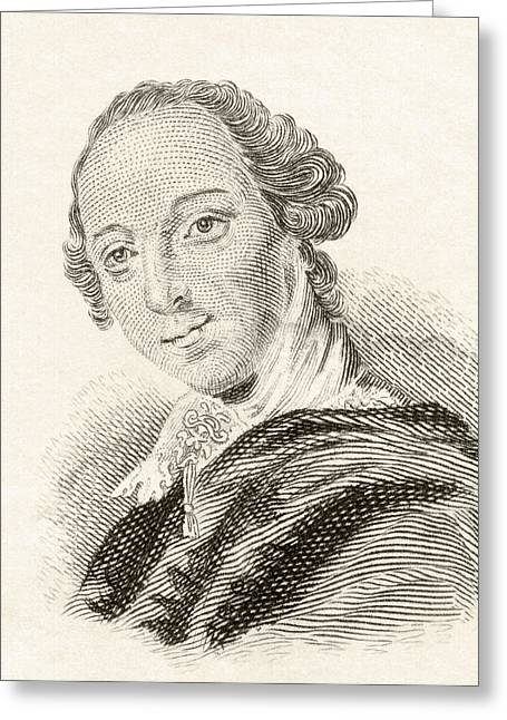 4th Drawings Greeting Cards - Horatio Walpole, 4th Earl Of Orford Greeting Card by Ken Welsh