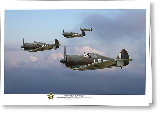 Cac Greeting Cards - Horn Island Patrol - Titled Greeting Card by Mark Donoghue