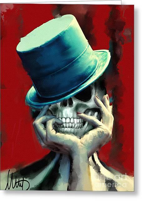 Horror Freak Greeting Card by Melanie D