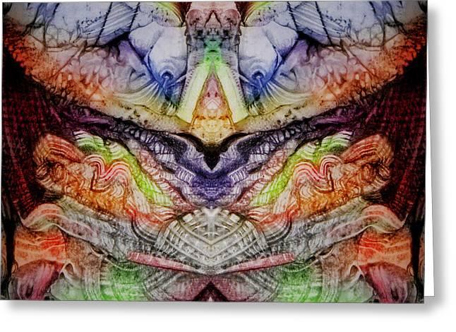 Horror Vacui 2 Digital Greeting Card by Otto Rapp