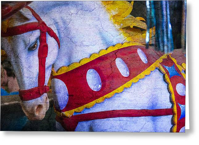 Fanciful Greeting Cards - Horse Dreams  Greeting Card by Garry Gay