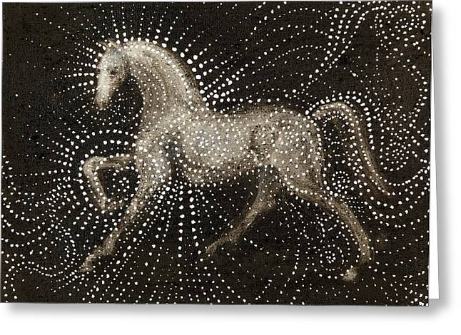 Horse Power Greeting Cards - Horse Greeting Card by Sophy White