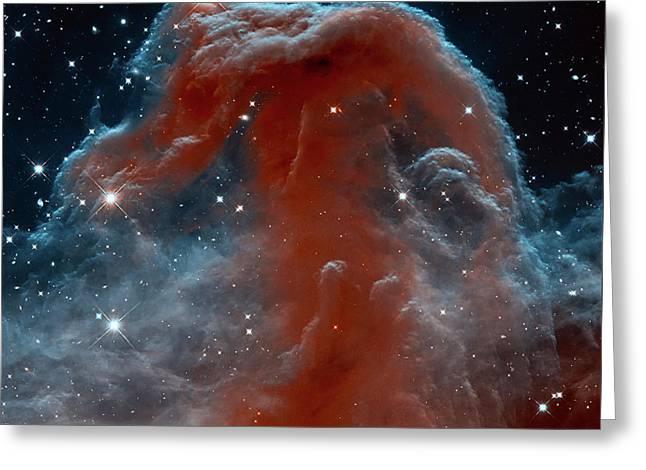 Horsehead Nebula Greeting Card by Mark Kiver