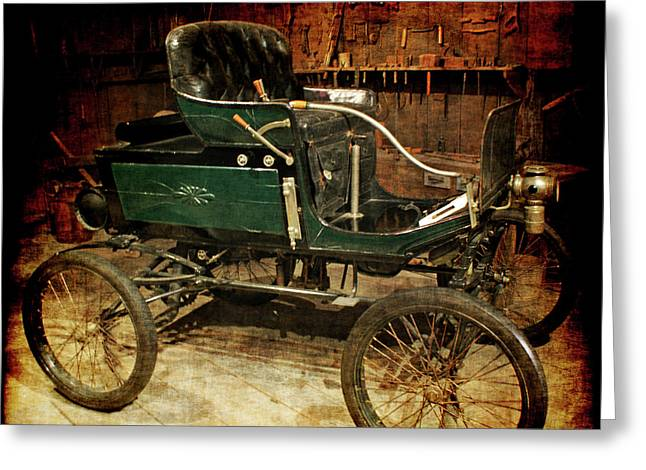 horseless carriage Greeting Card by Ernie Echols