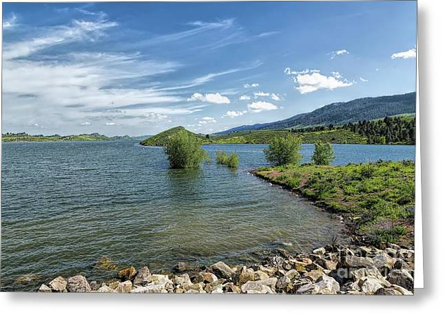 Horsetooth Spring Greeting Card by Jon Burch Photography