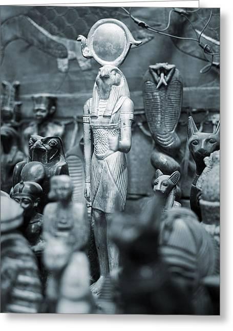 Horus Greeting Cards - Horus Greeting Card by David Taylor