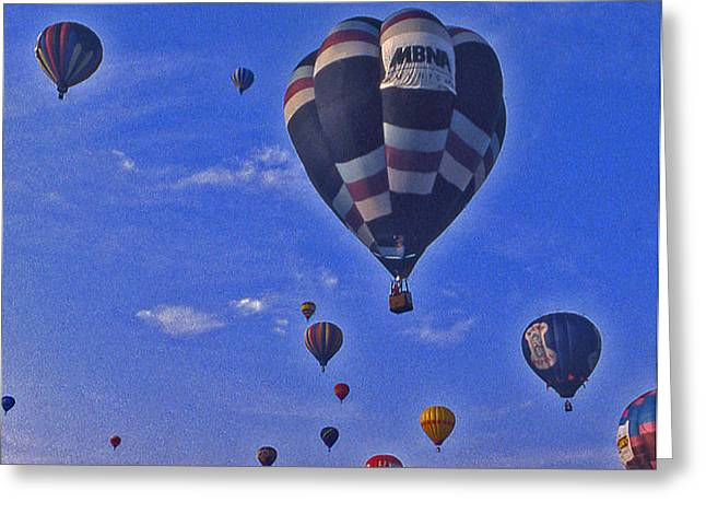 Hot Air Balloon - 14 Greeting Card by Randy Muir
