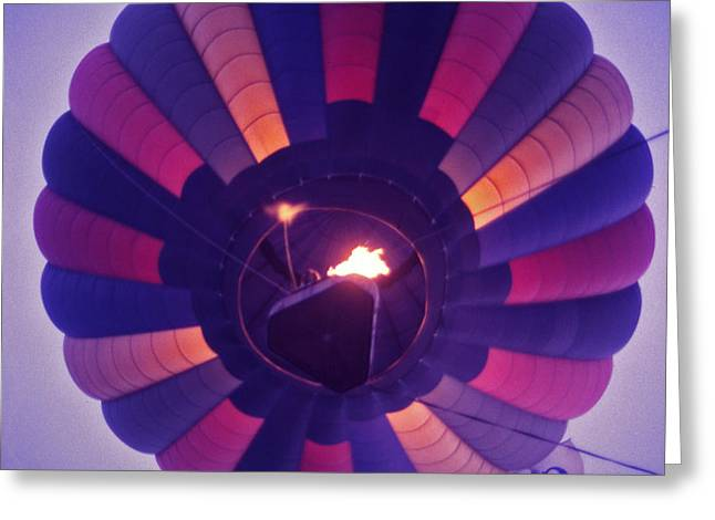 Hot Air Balloon - 7 Greeting Card by Randy Muir