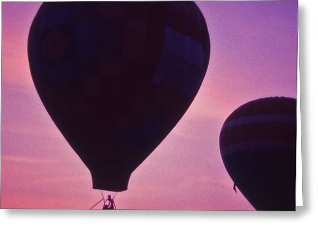 Hot Air Balloon - 8 Greeting Card by Randy Muir