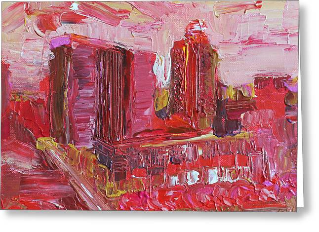 Red Wine Prints Greeting Cards - Hot and Steamy Greeting Card by Robert Yaeger